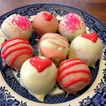 Strawberry Cake Bites & Happy Valentine's Day
