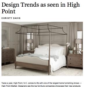 Christy Davis Interiors: Freelance Writing for Columbia Metropolitan Magazine