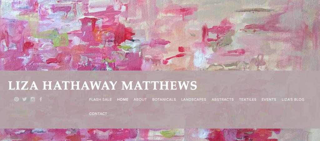Christy Davis Interiors: Artist Spotlight: Liza Hathaway Matthews