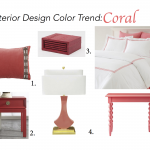 Interior Design 2016 Color Trend: Coral