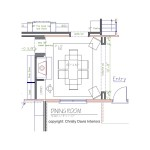 Christy Davis Home Renovation: Dining Room Furniture Layout
