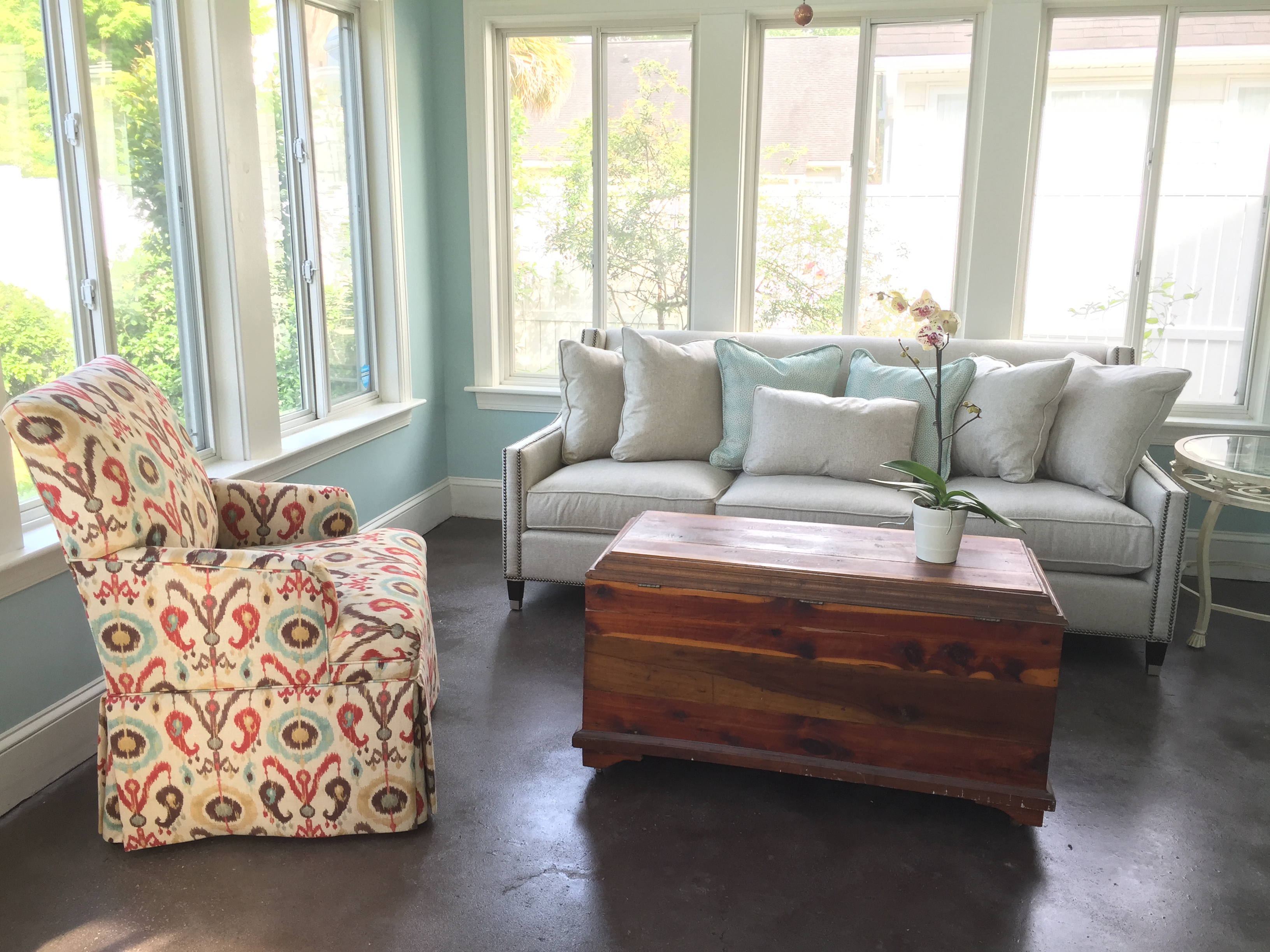 Christy Davis Interiors: James Island interior design