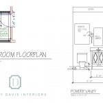 Christy Davis Home Renovation: Powder Room