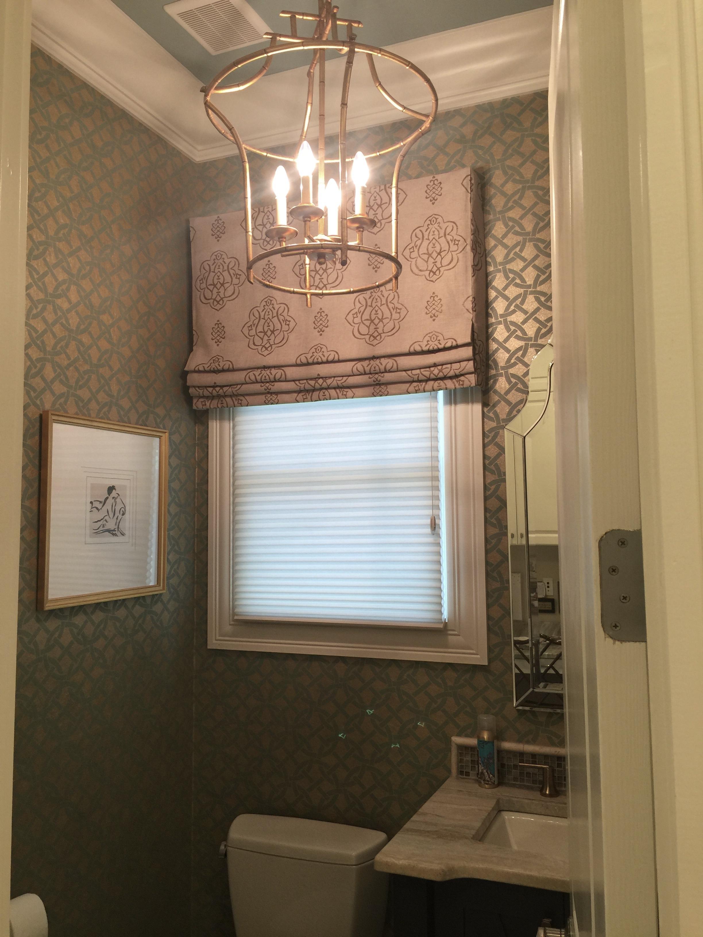 Christy Davis Interiors home Renovation Powder Room
